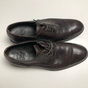 Cole Haan Brown Leather Dress Shoes Size 9